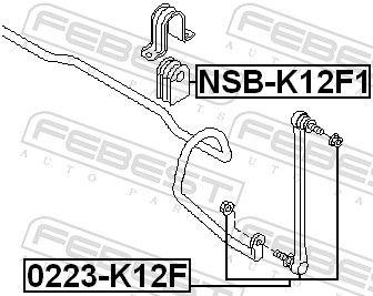 Pendelstütze FEBEST 0223-K12F Bewertung