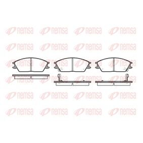 Bremsbelagsatz, Scheibenbremse Höhe: 49mm, Dicke/Stärke: 14,8mm mit OEM-Nummer 5810124B00
