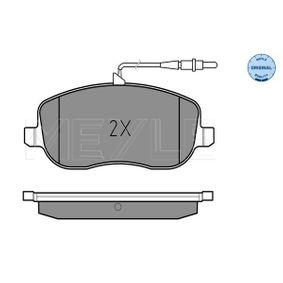 Bremsbelagsatz, Scheibenbremse Breite: 146,6mm, Höhe: 60mm, Dicke/Stärke: 18,8mm mit OEM-Nummer 77366761