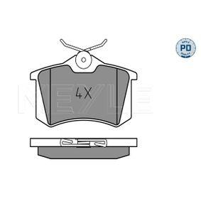 Bremsbelagsatz, Scheibenbremse Breite: 87,1mm, Höhe: 52,8mm, Dicke/Stärke: 15,1mm mit OEM-Nummer 1E0 698 451 B