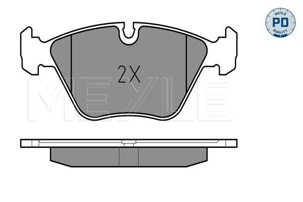 Bremsbelagsatz MEYLE MBP0180PD Bewertung