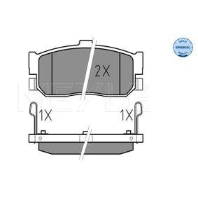 Bremsbelagsatz, Scheibenbremse Breite: 105,3mm, Höhe: 46,8mm, Dicke/Stärke: 16mm mit OEM-Nummer 440604U090