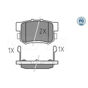 Brake Pad Set, disc brake Width: 88,8mm, Height: 47,4mm, Thickness: 14,6mm with OEM Number 43022SX0A52