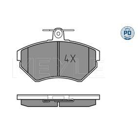 Bremsbelagsatz, Scheibenbremse Breite: 118,9mm, Höhe: 69,4mm, Dicke/Stärke: 15,9mm mit OEM-Nummer 1HM698151
