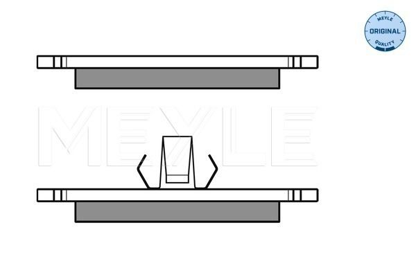 Bremsbelagsatz MEYLE MBP0263 Bewertung