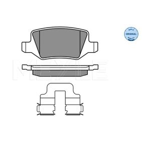 Brake Pad Set, disc brake Width: 95,7mm, Height: 41,3mm, Thickness: 14,6mm with OEM Number 4144200120