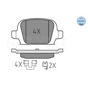 Bremsbelagsatz, Scheibenbremse Breite: 95,6mm, Höhe: 43,8mm, Dicke/Stärke: 14mm mit OEM-Nummer 9200132