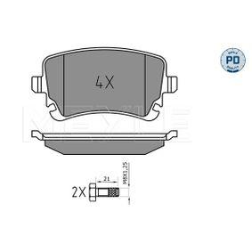 Bremsbelagsatz, Scheibenbremse Breite: 116,1mm, Höhe: 58,7mm, Dicke/Stärke: 17,3mm mit OEM-Nummer 4B3.698.451A
