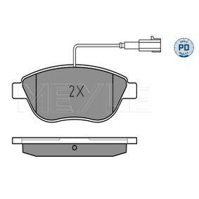 Bremsbelagsatz, Scheibenbremse Breite: 137mm, Höhe: 57,4mm, Dicke/Stärke: 18,2mm mit OEM-Nummer 77365468