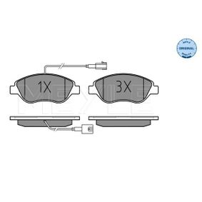 Bremsbelagsatz, Scheibenbremse Breite: 150,8mm, Höhe: 57,4mm, Dicke/Stärke: 18,4mm mit OEM-Nummer 9949279
