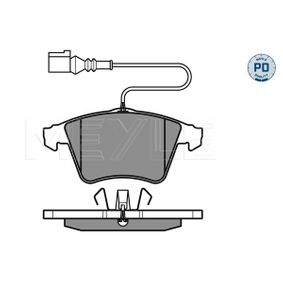 Brake Pad Set, disc brake Width 1: 155mm, Width 2 [mm]: 156,2mm, Height 1: 73,3mm, Height 2: 74,8mm, Thickness: 19,6mm with OEM Number 7L6698151F
