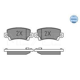 Bremsbelagsatz, Scheibenbremse Breite: 95,5mm, Höhe: 37,8mm, Dicke/Stärke: 15,7mm mit OEM-Nummer 04466 02020
