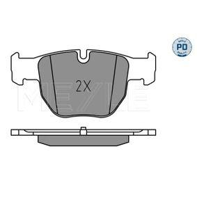 Bremsbelagsatz, Scheibenbremse Breite: 123mm, Höhe: 58,5mm, Dicke/Stärke: 16mm mit OEM-Nummer N0Y93323Z
