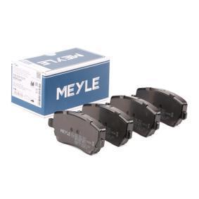 Bremsbelagsatz, Scheibenbremse Breite: 116,5mm, Höhe: 52,6mm, Dicke/Stärke: 17,3mm mit OEM-Nummer 4106 0AX 625