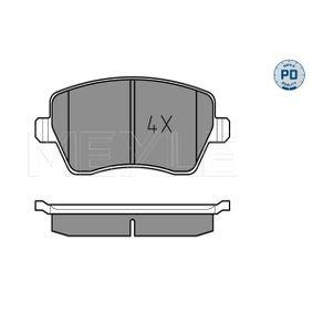 Bremsbelagsatz, Scheibenbremse Breite: 116,5mm, Höhe: 52,6mm, Dicke/Stärke: 17,3mm mit OEM-Nummer 41060-00Q0K