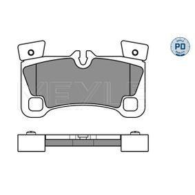 Bremsbelagsatz, Scheibenbremse Breite: 132,1mm, Höhe: 77mm, Dicke/Stärke: 16,3mm mit OEM-Nummer 955 352 939 61