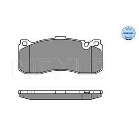 Bremsbelagsatz, Scheibenbremse Breite: 164,8mm, Höhe: 73,5mm, Dicke/Stärke: 17mm mit OEM-Nummer 3411 6 786 044