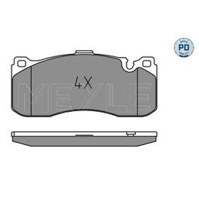 Bremsbelagsatz, Scheibenbremse Breite: 164,8mm, Höhe: 73,5mm, Dicke/Stärke: 17mm mit OEM-Nummer 34 11 6 786 044