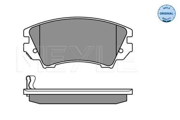 Disk brake pads MEYLE MBP0591 rating