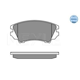 Brake Pad Set, disc brake Width: 142mm, Height: 66,7mm, Thickness: 19,1mm with OEM Number 1605265