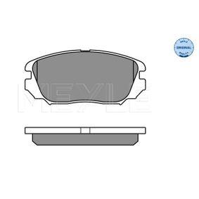 Bremsbelagsatz, Scheibenbremse Breite: 131,4mm, Höhe: 59,7mm, Dicke/Stärke: 19,1mm mit OEM-Nummer 1605185