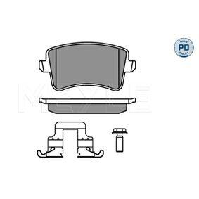 Bremsbelagsatz, Scheibenbremse Breite: 116,4mm, Höhe: 58,5mm, Dicke/Stärke 1: 17,4mm, Dicke/Stärke 2: 17,7mm mit OEM-Nummer 8K0 698 451F