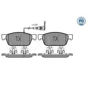 Bremsbelagsatz, Scheibenbremse Breite: 193,1mm, Höhe: 75mm, Dicke/Stärke: 18,1mm mit OEM-Nummer 7E0 698 151