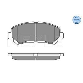 2013 Nissan Qashqai j10 1.5 dCi Brake Pad Set, disc brake 025 246 3217