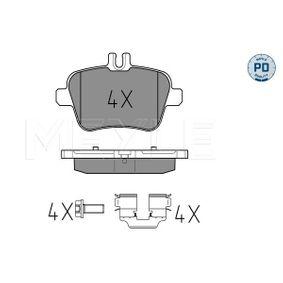 Bremsbelagsatz, Scheibenbremse Breite: 106,2mm, Höhe: 59mm, Dicke/Stärke: 18,3mm mit OEM-Nummer 007 420 94 20