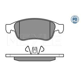 Bremsbelagsatz, Scheibenbremse Breite 1: 155,1mm, Breite 2: 155,1mm, Höhe 1: 59,4mm, Höhe 2: 64,7mm, Dicke/Stärke: 18mm mit OEM-Nummer 8660 004 545