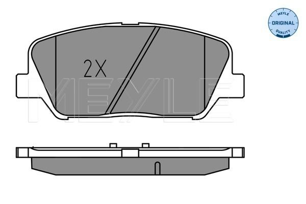 Bremsbelagsatz MEYLE MBP1718 Bewertung