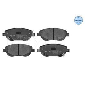 Bremsbelagsatz, Scheibenbremse Breite: 150,7mm, Höhe: 60,9mm, Dicke/Stärke: 19mm mit OEM-Nummer 24946