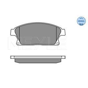 Bremsbelagsatz, Scheibenbremse Breite: 148,1mm, Höhe: 61,2mm, Dicke/Stärke: 18,2mm mit OEM-Nummer 16 05 135