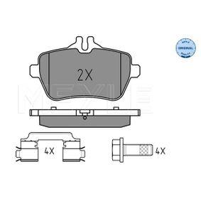 Bremsbelagsatz, Scheibenbremse Breite: 116mm, Höhe: 65mm, Höhe 2: 54,5mm, Dicke/Stärke: 18mm mit OEM-Nummer 008 420 3420