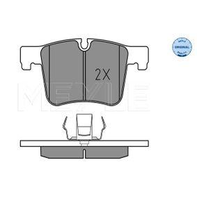 Brake Pad Set, disc brake 025 251 9919 3 Saloon (F30, F80) 320d 2.0 MY 2014