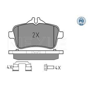 Bremsbelagsatz, Scheibenbremse Breite: 116,2mm, Höhe 1: 60mm, Höhe 2: 50,2mm, Dicke/Stärke: 18,2mm mit OEM-Nummer 006 420 34 20