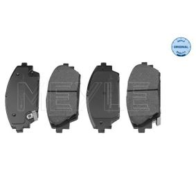 Brake Pad Set, disc brake Width: 141,8mm, Height: 55,8mm, Thickness: 15,8mm with OEM Number BHY1-3328Z-A