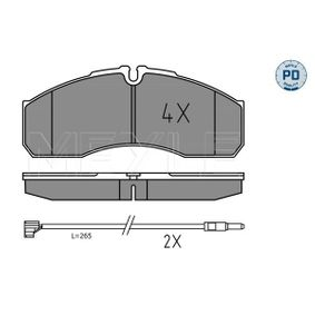 Bremsbelagsatz, Scheibenbremse Breite: 164,8mm, Höhe: 67,9mm, Dicke/Stärke: 20,2mm mit OEM-Nummer 50 0184 4748