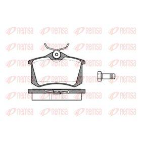 Bremsbelagsatz, Scheibenbremse Höhe: 52,9mm, Dicke/Stärke: 17mm mit OEM-Nummer 8D0 698 451