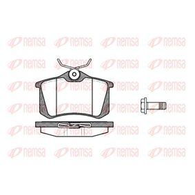 Bremsbelagsatz, Scheibenbremse Höhe: 52,9mm, Dicke/Stärke: 17mm mit OEM-Nummer 5C0698451B