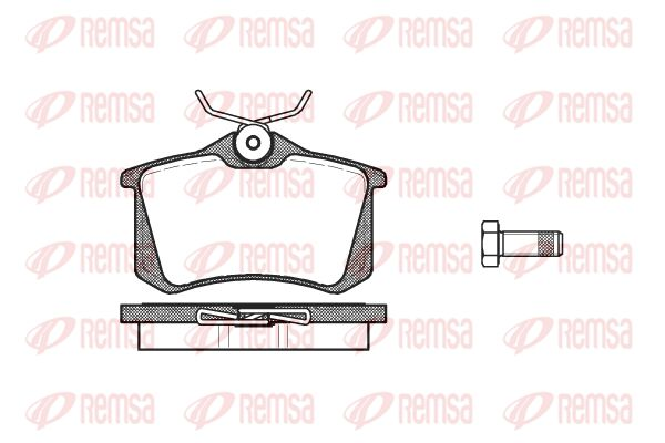 KAWE  0263 10 Jogo de pastilhas para travão de disco Altura: 52,9mm, Espessura: 15mm