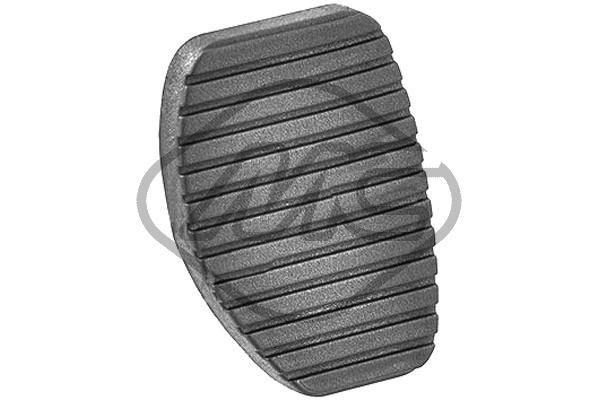 Metalcaucho  02771 Clutch Pedal Pad
