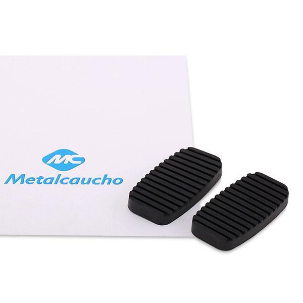Guarnición pedal, acelerador 02772 Metalcaucho 02772 en calidad original