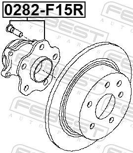 Wheel Hub FEBEST 0282-F15R rating