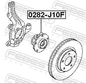 Wheel Bearing FEBEST 0282-J10F rating