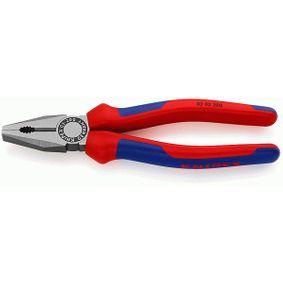 KNIPEX Szczypce uniwersalne płaskie, kombinerki 03 02 200