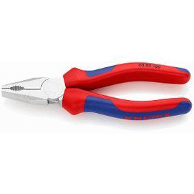 KNIPEX Szczypce uniwersalne płaskie, kombinerki 03 05 160