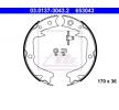 Ръчна спирачка SUBARU Legacy 4 (BP) 2003 годината на производство 03.0137-3043.2 без лост