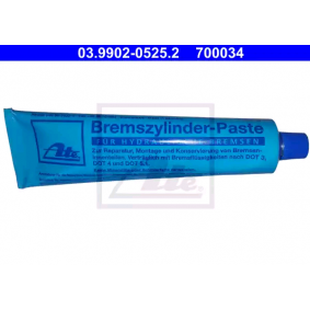 ATE Pasta, peças hidráulicas embraiagem / travão 03.9902-0525.2