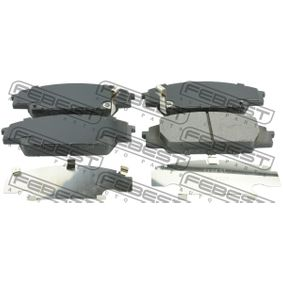 Brake Pad Set, disc brake Height: 52mm, Thickness: 17,1mm with OEM Number 45022-S2AE-50